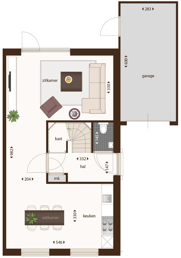 Nieuw poelveld te eijsden woningen veldleeuwerik for Woning indeling